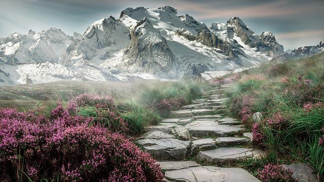 הקצה של ההר