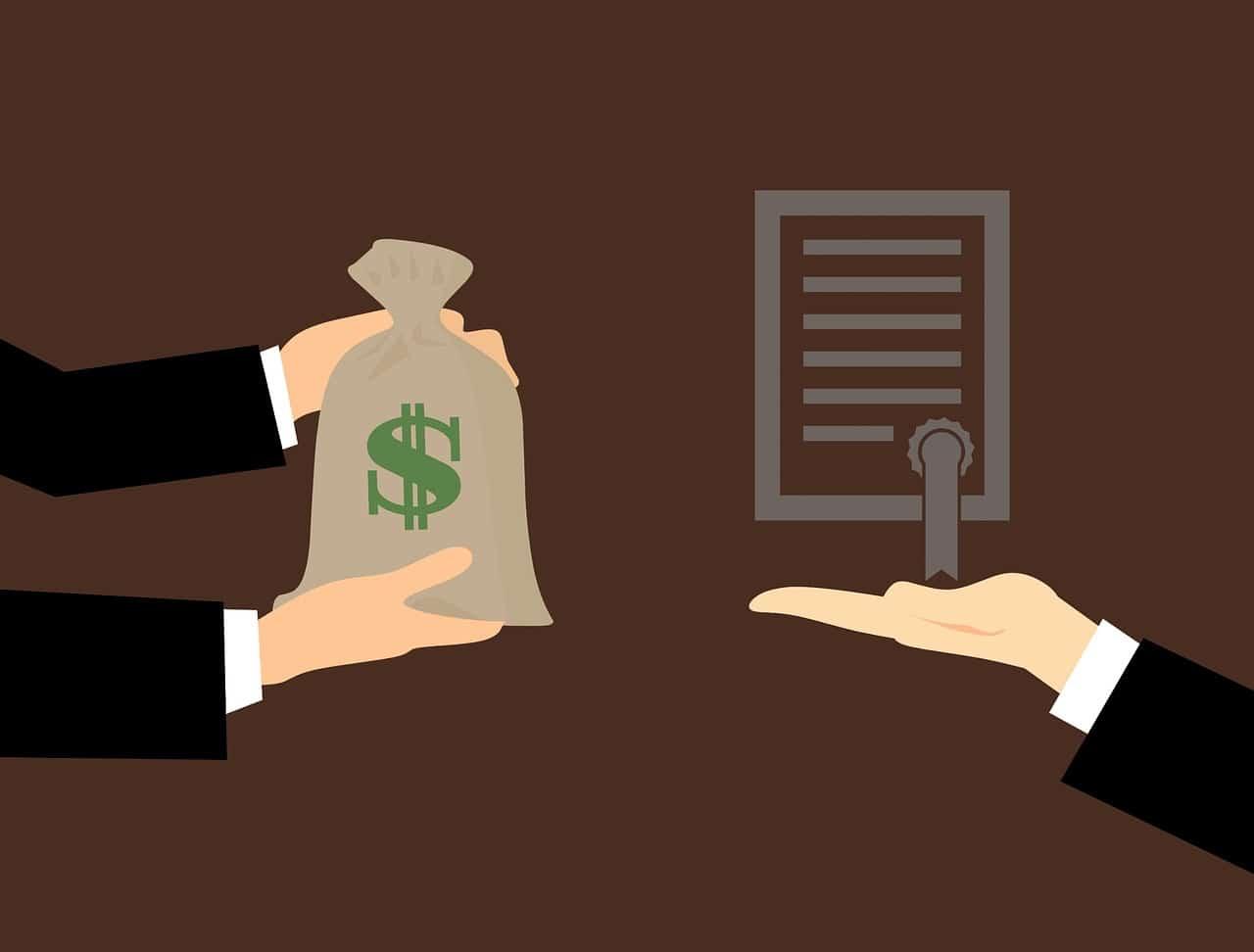 כסף ומסמך