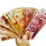 כסף בשטרות